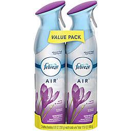 Febreze®2-Pack Odor-Eliminating Air Freshener Spray in Air Spring Renew