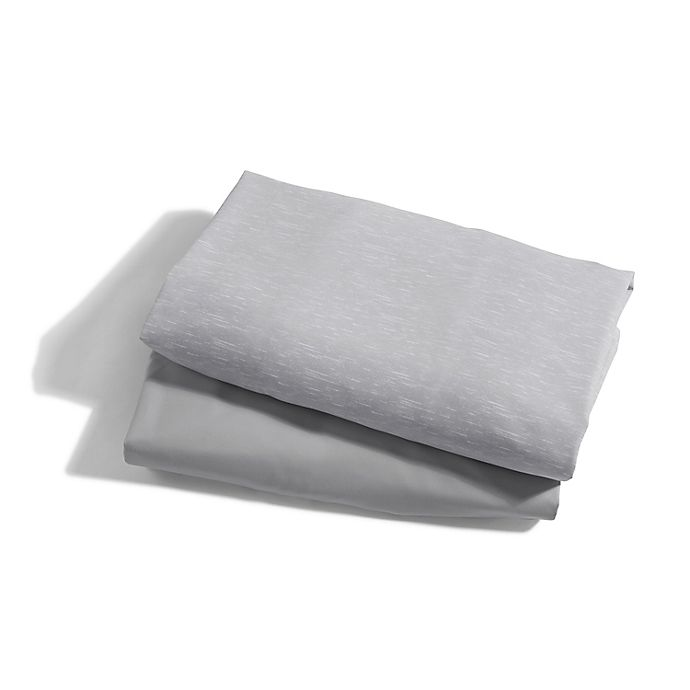 Alternate image 1 for Baby Jogger® city suite™ 2-Pack Waterproof Sheets in Graphite