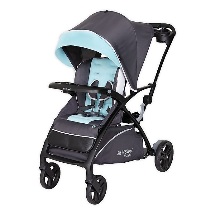 Alternate image 1 for Baby Trend® Sit N' Stand® 5-in-1 Shopper Stroller in Light Blue