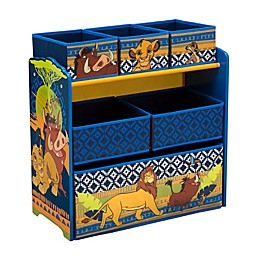 Delta Children Disney® The Lion King 6-Bin Design and Store Toy Storage Organizer
