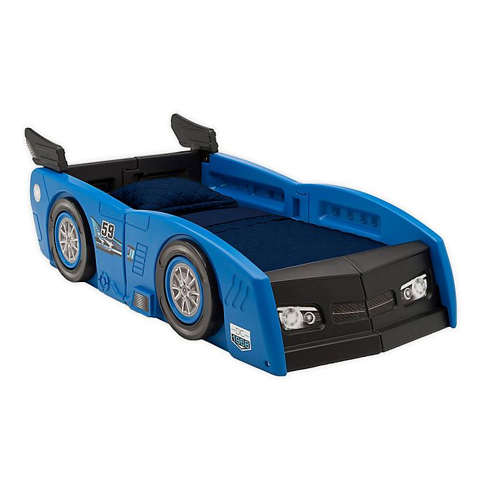 Alternate image 1 for Delta Children® Grand Prix Race Car Toddler-to-Twin Bed