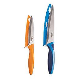 Zyliss® 2-Piece Stainless Steel Utility Knife Set with Sheaths
