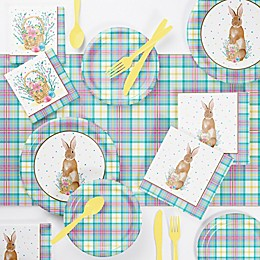 Creative Converting™ 73-Piece Easter Plaid Party Supplies Kit
