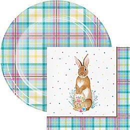 Creative Converting™ 72-Piece Easter Plaid Snack Kit