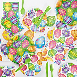 Creative Converting™ 73-Piece Colorful Easter Eggs Party Supplies Kit