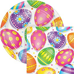 Creative Converting™ 72-Piece Colorful Easter Eggs Snack Kit