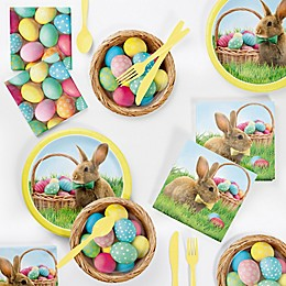 Creative Converting™ 72-Piece Easter Bunny and Basket Party Supplies Kit