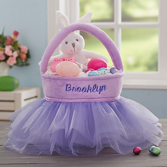 Alternate image 1 for Tutu Personalized Easter Basket Collection