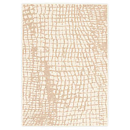 ECARPETGALLERY Safari 7'10 x 10'2 Indoor/Outdoor Area Rug in Champagne