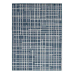 ECARPETGALLERY Tessa 7'10 x 10'2 Indoor/Outdoor Area Rug in Petrol