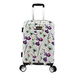 Bebe™ Alexandra 21-Inch Hardside Spinner Carry On Luggage in White Floral