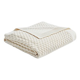 Madison Park Briar Throw Blanket in Natural