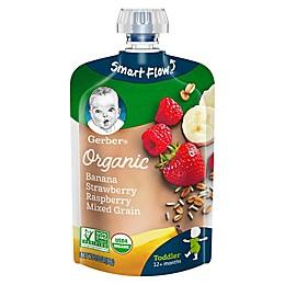 Gerber®  Organic Toddler Food Fruit & Grain 3.5 oz. Banana, Red Berries, Granola