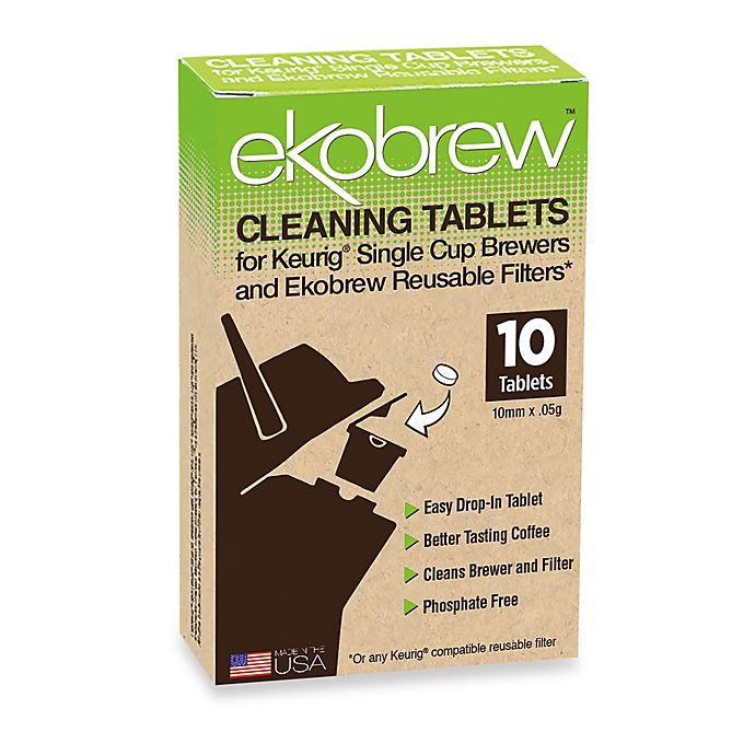 Alternate image 1 for ekobrew™ 10-Count Cleaning Tablets