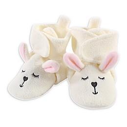 Hudson Baby® Bunny Booties in Beige