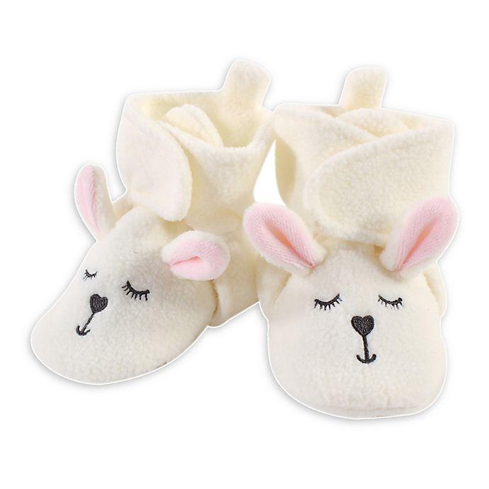 Alternate image 1 for Hudson Baby® Bunny Booties in Beige
