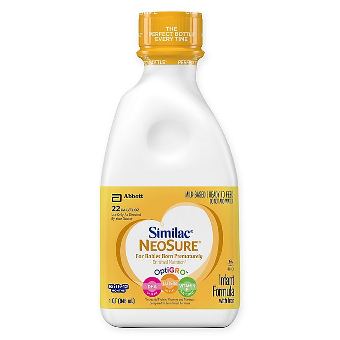 Alternate image 1 for Similac® Expert Care NeoSure® Ready to Feed 32 oz. Bottle