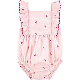 carter's® Flamingo Romper in Pink