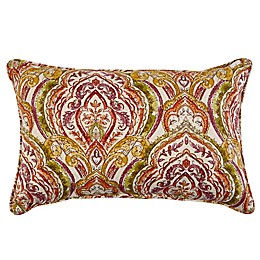 Print Indoor/Outdoor 13-Inch x 20-Inch Oblong Throw Pillow