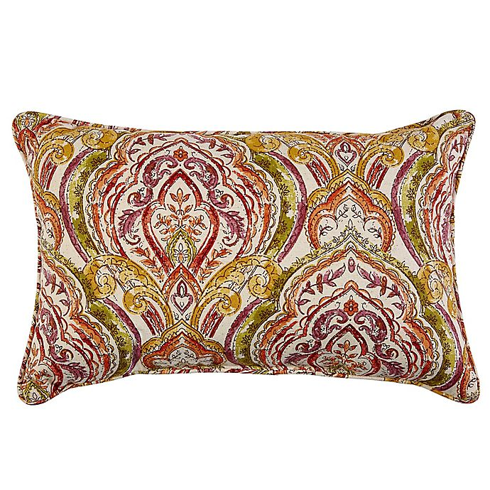 Alternate image 1 for Print Indoor/Outdoor 13-Inch x 20-Inch Oblong Throw Pillow