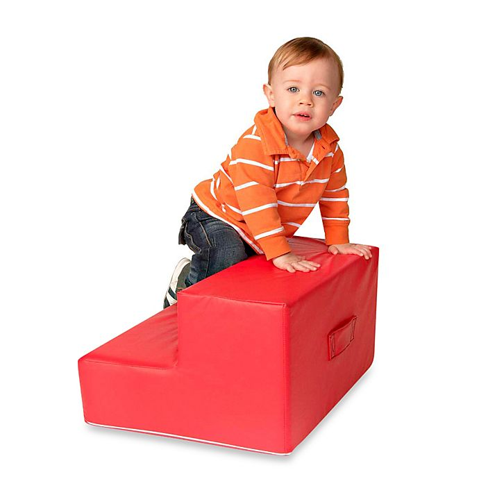 Alternate image 1 for Foamcraft Foamnasium™ Toddler Step in Red