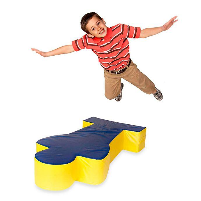 Alternate image 1 for Foamcraft Foamnasium™ Large FoamMan in Blue/Yellow