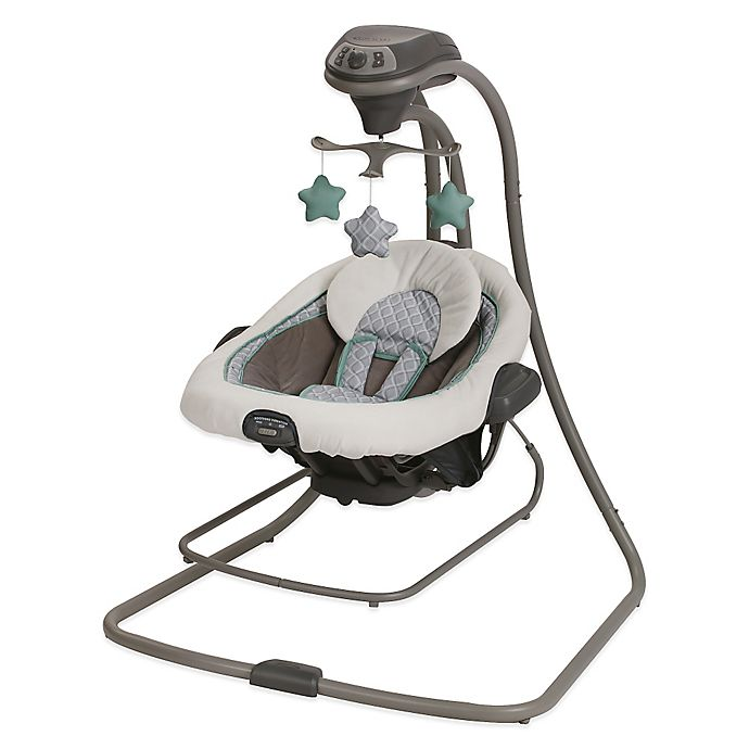 Alternate image 1 for Graco® DuetConnect™ LX Swing + Bouncer in Manor™