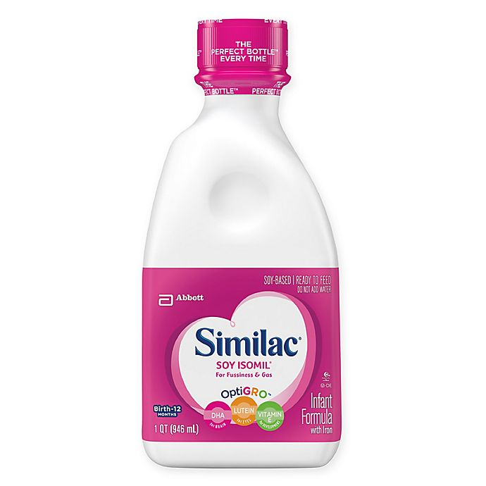 Alternate image 1 for Similac® Soy Isomil® Ready to Feed 32 oz. Bottle