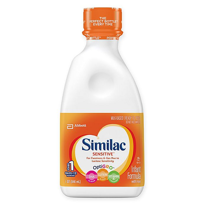 Alternate image 1 for Similac Sensitive® Ready to Feed 32 oz. Bottle