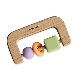 Little Rawr™ Silicone and Wood D Teether