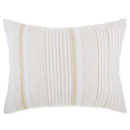 O&O by Olivia & Oliver™ Wide Yarn Dyed King Pillow Sham in Gold
