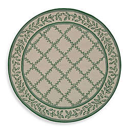 Safavieh Chelsea Wool 4-Foot Round Area Rug in Ivory/Light Green