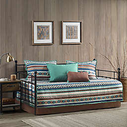 Madison Park Malone Reversible 6 Piece Daybed Set in Brown