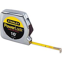 Stanley® PowerLock® 10-Foot Retractable Pocket Tape Rule