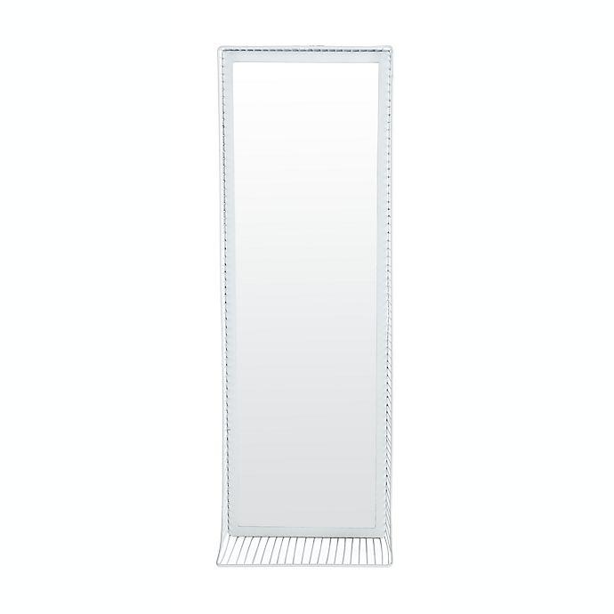 Alternate image 1 for Safavieh Jerri 36-Inch x 12-Inch Rectangular Mirror in Teal