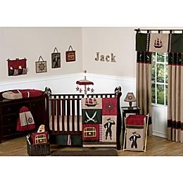 Sweet Jojo Designs Pirate Treasure Cove Crib Bedding Collection