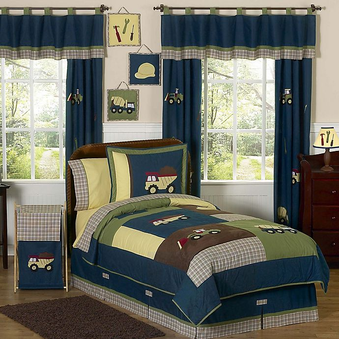 Sweet Jojo Designs Construction Zone Bedding Collection