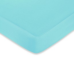 Sweet Jojo Designs® Hooty Fitted Crib Sheet in Turquoise