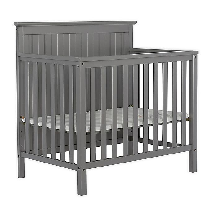 Alternate image 1 for Dream On Me Ava 4-in-1 Convertible Mini  Crib