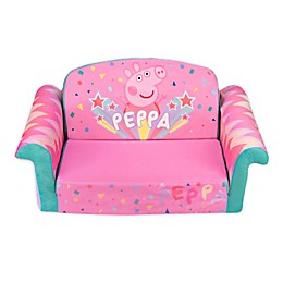 Marshmallow Fun Company Peppa Pig Flip Open Couch