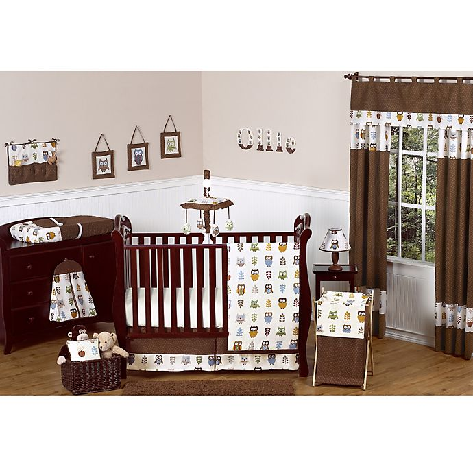 Sweet Jojo Designs Night Owl Crib Bedding Collection Bed Bath Beyond
