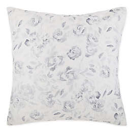 O&O by Olivia & Oliver™ Floral Mini Pick Stitch European Throw Pillow in Ivory