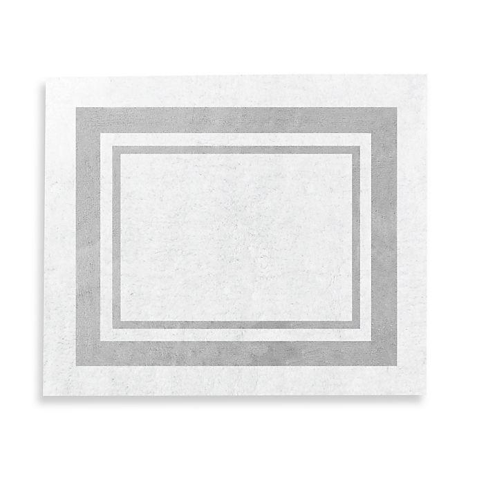 Alternate image 1 for Sweet Jojo Designs Hotel 36-Inch x 30-Inch Rug in White/Grey