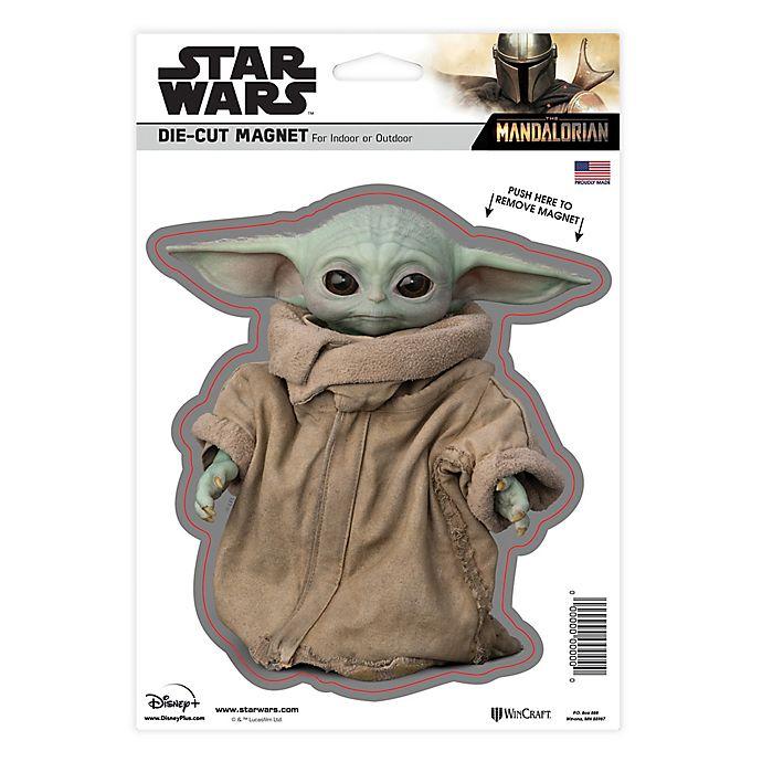 Alternate image 1 for Star Wars™ The Child (AKA Baby Yoda) Die-Cut Logo Magnet