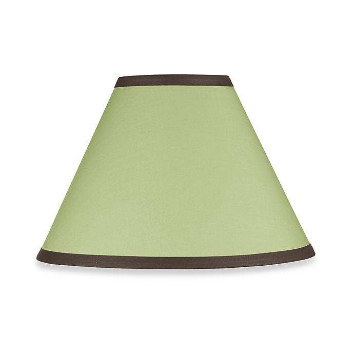 Sweet Jojo Designs Hotel Lamp Shade In Green Chocolate Brown