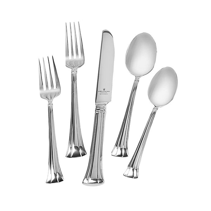 Alternate image 1 for Waterford® Mont Clare 65-Piece Flatware Set