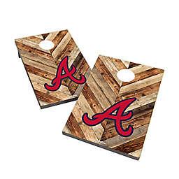 MLB Atlanta Braves Cornhole Bag Toss Set
