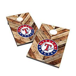 MLB Texas Rangers Cornhole Bag Toss Set