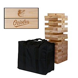 MLB Giant Wooden Tumble Tower Game Collection