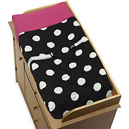 Sweet Jojo Designs Hot Dot Collection Changing Pad Cover